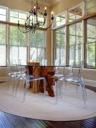 acrylic dining table base design ideas fabulous transparent dining chairs and natural wooden