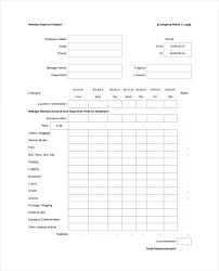 Monthly Expense Report Template Excel Expense Report Form Simple Expense Report Free Simple Expense