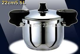 cuisine autocuiseur livraison gratuite 5 5 litre autocuiseur 22 cm pression marmite