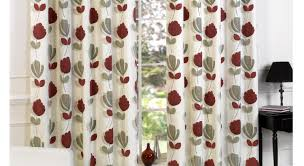 Red And Grey Bathroom by Red And Grey Shower Curtain Dahlia Shower Curtain In Red Tan And