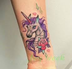 aliexpress com buy waterproof temporary tattoo sticker unicorn