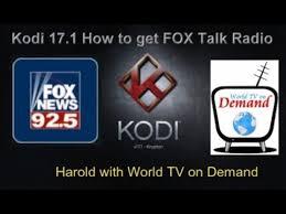 black friday amazon foxnews kodi 17 fox news radio great addon for kodi 17 youtube