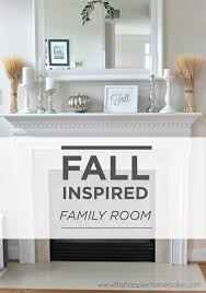 keep your fall decor simple with a white and silver color scheme