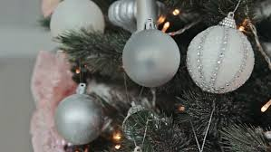 tree ornaments factory stock footage 4687292