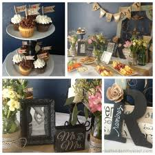 shabby chic wedding shower diy decor real food enthusiast
