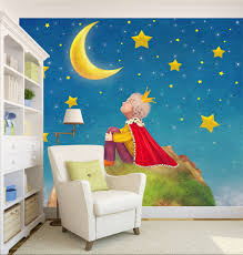 28 nursery wall mural simply home designs home interior nursery wall mural 3d little prince 344 wall murals wallpaper decal decor