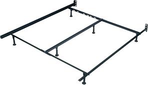 sleep master elite platform metal bed frame twin x large mattress