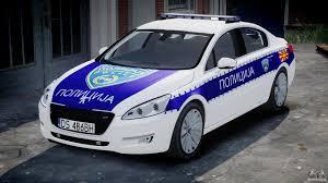 peugeot 508 2003 peugeot 508 macedonian police els for gta 4