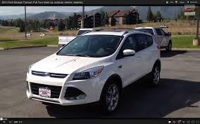 Ford Escape Inside - 2013 ford escape titanium full tour start up exhaust interior