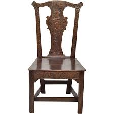 Ebay Chippendale Esszimmer Oak 18th Century Carved Solid Splat Chippendale Chair Furniture