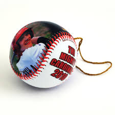 make a customized ornament baseballs custom ornament sports