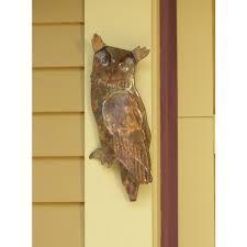nature inspired home decor outdoor garden owl