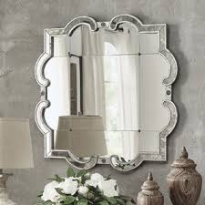 Rhinestone Wall Mirror Silver Mirrors Shop The Best Deals For Oct 2017 Overstock Com