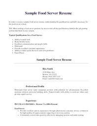 restaurant resume template restaurant server resume template sle collaborativenation