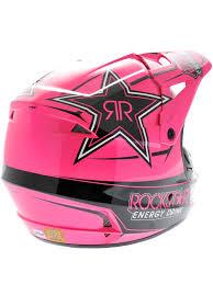 pink motocross helmet fox noir rose rockstar v1 2013 mx casque ebay