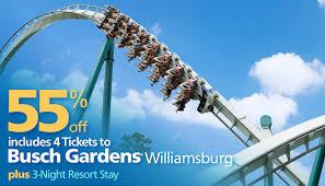 Busch Gardens Williamsburg New Ride by Busch Gardens Williamsburg Vacation Bluegreen Getaways