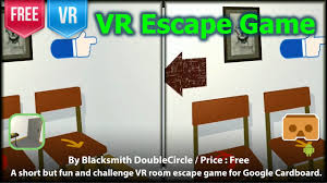 vr escape game for google cardboard the puzzle is not hard but
