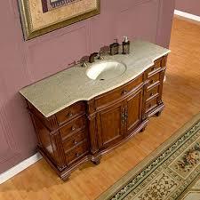 Granite Top Bathroom Vanity by Silkroad Exclusive 60 Inch Bathroom Vanity Granite Top