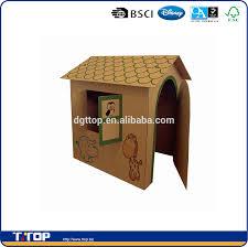 kids paintable cardboard house kids paintable cardboard house