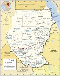 Map States And Capitals by Administrative Map Of Sudan Nations Online Project