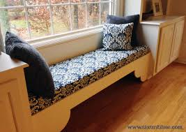 How To Make A Window Bench Seat Cushion Not Diabetes Window Seat Cushion Six Until Me Diabetes Blog