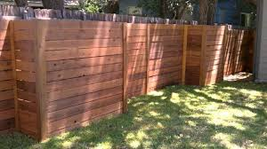 How To Build Backyard Fence Diy Privacy Fence Do It Your Self