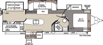 classic floor plans flagstaff classic super lite travel trailers floor plans