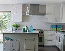 Kitchen Backsplashes For White Cabinets by Home Design Backsplash Ideas Cream Cabinets Corian Countertops