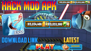 download game hungry shark evolution mod apk versi terbaru hungry shark evolution v 5 5 4 hack mod apk unlimited money and