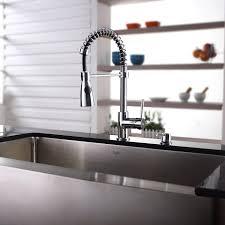 metal kitchen sink and cabinet combo kraus kitchen combo series khf20036kpf1612ksd30ch