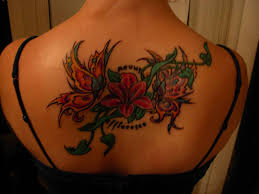 flower butterfly tattoos tattoos to see