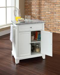 kitchen white finish portable small kitchen island kitchen