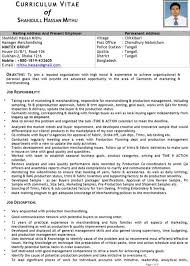 Resume Sample For Merchandiser Resume Format Download For Merchandiser Mentionedappeared Gq