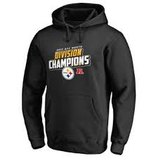 pittsburgh steelers 2017 afc north division champs hoodies