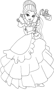 ever after high raven queen coloring pages getcoloringpages com