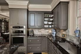 grey kitchen cabinets with granite countertops grey kitchen cabinets with patterned black granite countertop eva