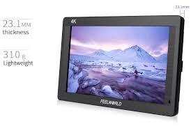 feelworld fh7 7 u0027 u0027 4k on camera monitor with hdmi input output ips