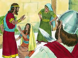 free bible images solomon shows god given wisdom in a dispute