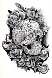 best 25 day of dead tattoo ideas on pinterest skull