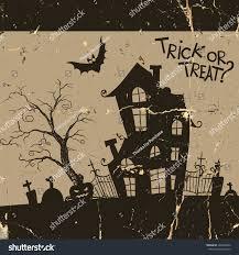 Monster House Halloween by Halloween Monster House Bat Pumpkins Eps Stock Vector 226489402