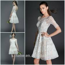 casual country wedding dresses aliexpress buy jm bridals cw3196 charming half sleeves