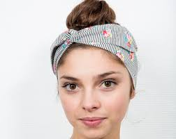 retro headbands wire headband etsy