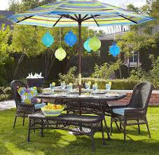 Outdoor Patio Dining Sets With Umbrella Small Patio Umbrella For Enjoyable Moment The Latest Home Decor