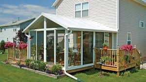 How To Build A Freestanding Patio Roof by Sunroom Kit Easyroom Diy Sunrooms Patio Enclosures