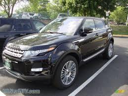 metallic land rover 2012 land rover range rover evoque prestige in barolo black