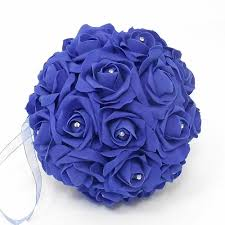wedding flowers royal blue artificial flowers wedding flowers other wedding flowers