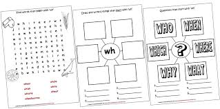 digraphs lapbook and worksheets wh iman u0027s home