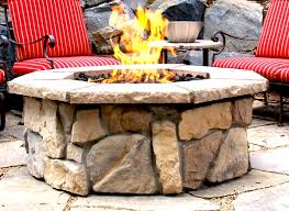 Diy Gas Firepit by Download Stone Gas Fire Pit Solidaria Garden