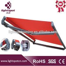 Motor For Retractable Awning Sunshade Waterproof Retractable Arm Awning Parts Aluminum