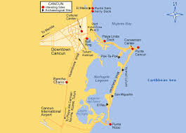 travel directions images View driving directions and area map for the omni cancun hotel gif